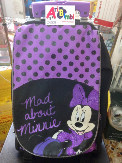 ZAINO TROLLEY MINNIE DISNEY