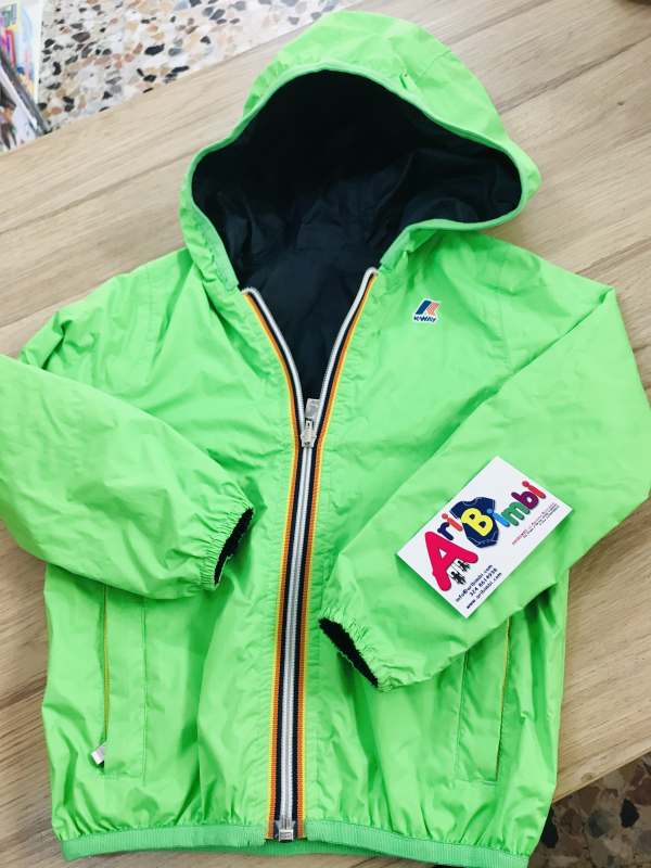 KWAY K-WAY JACQUES PLUS DOUBLE FLUO 4 ANNI