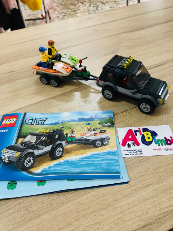 LEGO CITY 60058 SUV CON MOTO ACQUA