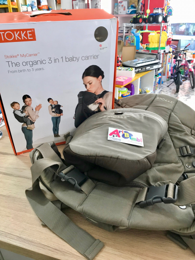MARSUPIO STOKKE THE 3 IN 1 BABY CARRIER - dalla nascita ai 3 anni