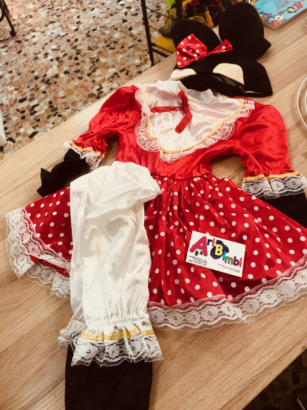 COSTUME MINNIE DISNEY 2-3 ANNI