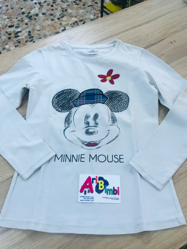 FELPA MINNIE MOUSE DISNEY 8 ANNI
