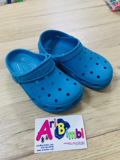 CIABATTE CHICCO TIPO CROCS N 27