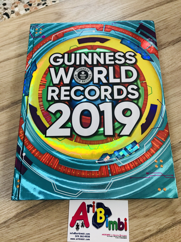 IL LIBRO DEI GUINNES, GUINNES WORLD RECORDS 2019