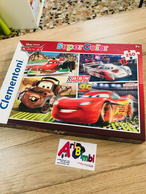PUZZLE CARS - NUOVO