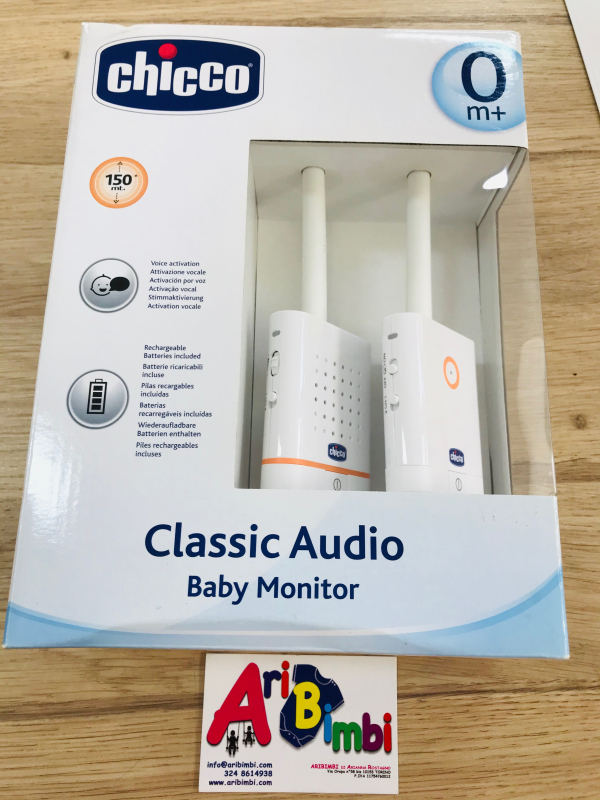 BABY MONITOR CLASSIC AUDIO CHICCO - NUOVO
