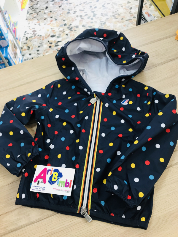 KWAY K-WAY LILY PLUS GRAPHIC, IMPERMEABILE, 3 ANNI