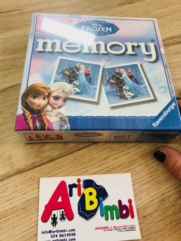 MEMORY FROZEN, NUOVO