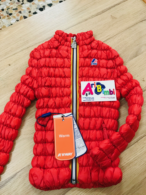 GIACCA KWAY THERMO STRETCH 3 ANNI - NUOVO