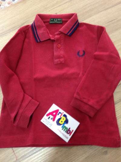 POLO A MANICA LUNGA FRED PERRY 2 ANNI