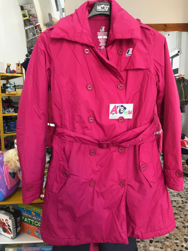 PIUMINO TRENCH KWAY TG S 12-14 ANNI, LIMITED EDITION