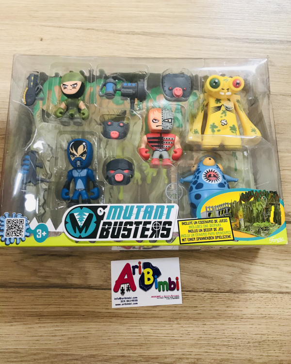 MUTANT BUSTERS deluxe NUOVO