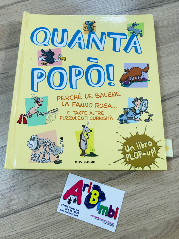 QUANTA POPO - MONDADORI UN LIBRO POP-UP