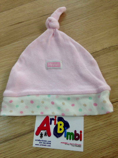 CAPPELLO MINNIE DISNEY 3-6 mesi