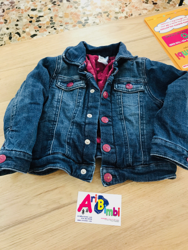GIACCA JEANS 3-4 ANNI